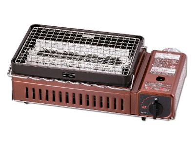 炉端焼き器(カセッボンベ1本付き)