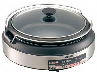 電気式グリル鍋